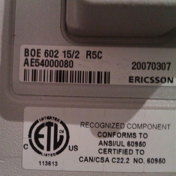 BOE 602 15/2 R5C