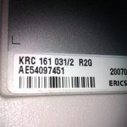 KRC 161 031/2 R2G